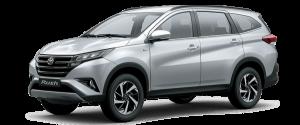 Toyota Rush màu bạc