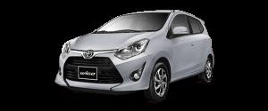 Toyota Wigo màu Bạc -AT2